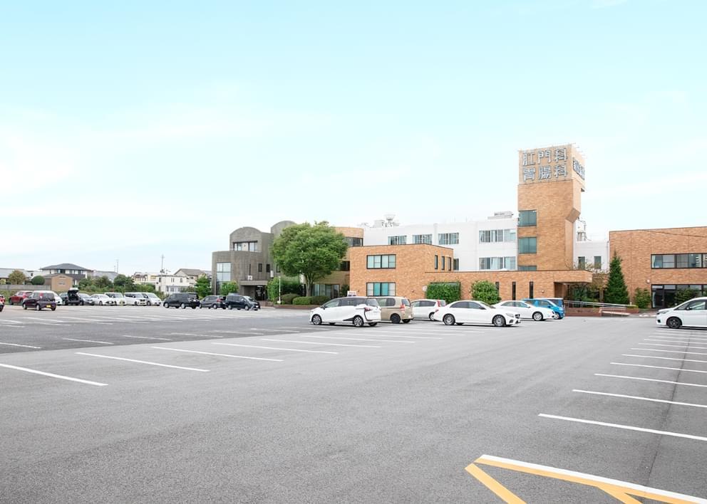 駐車場150台完備